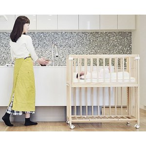 そいねーる+ ロング ベビーベッド 専用敷きマット付 yamatoya(大和屋)|kagu|03