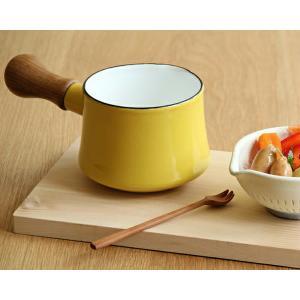 DANSK(ダンスク) コベンスタイル ミルクパン バターウォーマー 片手鍋9.5cm イエロー|kagu