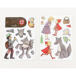Egmont Toys(エグモントトイズ) マグネットブック 赤ずきん|kagu|03