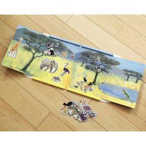 Egmont Toys(エグモントトイズ) マグネットブック ジャングル kagu 02