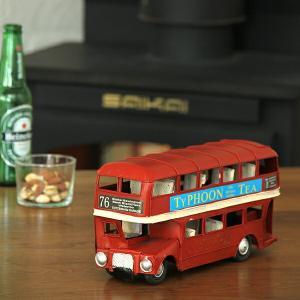 クラシックな ブリキ風 ロンドンバス(小)|kagu