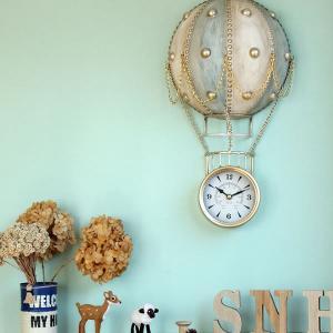 ノスタルジックな 壁掛け時計 SkyBaloon (気球) kagu
