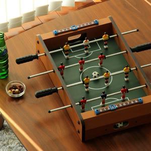 コンパクトサイズの ボードゲーム サッカー 小型 冬キャンプ 大人 携帯 子供部屋 おもちゃ テント内 BBQ バーベキュー