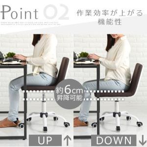 キッズチェア 学習椅子 勉強チェア 回転チェア 椅子 イス いす 子ども 子供部屋 おしゃれ インテリア リビング|kagubiyori|13