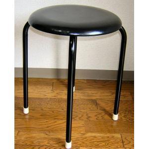 丸椅子(黒)10脚セット|kaguch