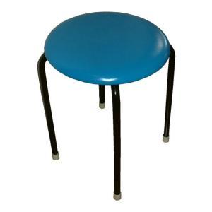 丸椅子(青)10脚セット|kaguch