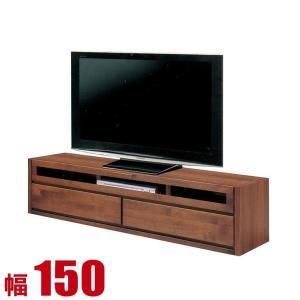 完成品 日本製 ケーブ 幅150cmTVボード ブラウン