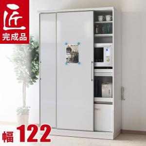 商品名 【返品/設置/送料無料】 完成品 日本製 収納自慢の大型家電ボード カータレット 幅122c...