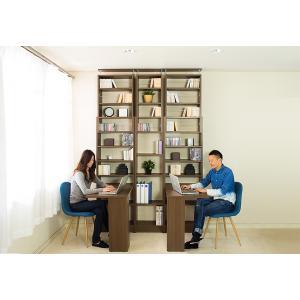 本棚 耐震本棚 突っ張り 転倒防止 壁面収納 薄型 幅60 奥行26|kagudoki|09