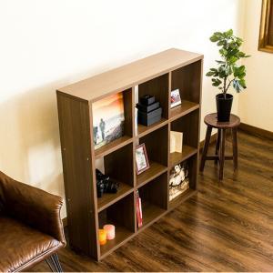 シェルフ A4 本棚 木製 おしゃれ 正方形 LPレコード|kagudoki|06