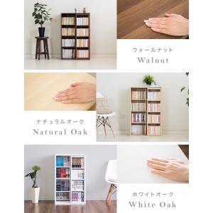 本棚 スライド本棚 幅60cm 奥深 シングルスライド|kagudoki|15
