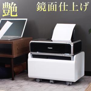 ■商品番号 AKU1010040  キャスター付きの便利なプリンター台です。空気清浄機をのせたまま移...