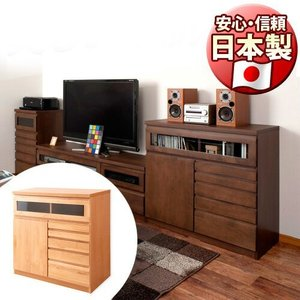 ■商品番号 ANS1004191  箪笥 ラック 電話台 日本製 国産 完成品 リビングボード 日本...