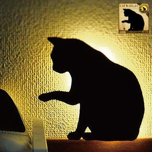 LEDライト That's Light! CAT WALL LIGHT ちょっかい|kagudoki