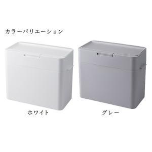 ゴミ箱 ふた付き 密閉 パッキン おしゃれ キッチン ダストボックス|kagudoki|05