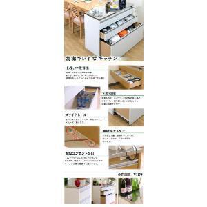 キッチンカウンター 日本製 完成品 ステンレス 幅120cm kagudoki 02