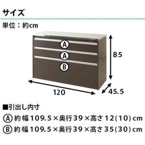 キッチンカウンター 日本製 完成品 ステンレス 幅120cm kagudoki 03
