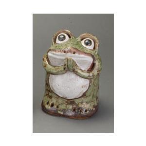 信楽焼 陶器 置物 かえる 家具|kaguemon
