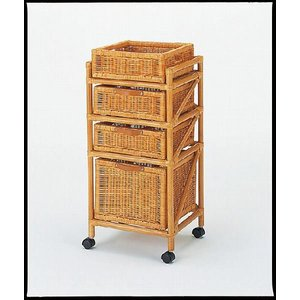 ランドリーラック チェスト 籐 60 家具|kaguemon