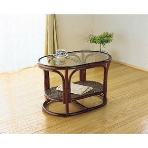 籐家具 テーブル 籐 ラタン アジアン W75 家具 kaguemon