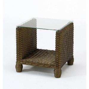 サイドテーブル 籐 ラタン 木製 アジアン 家具 kaguemon