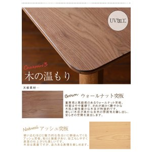 こたつ 長方形 120 本体 こたつテーブル おしゃれ 北欧 フラットヒーター 薄型ヒーター アネラ 家具調こたつ 120x80|kaguhonpo|04