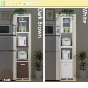 隙間収納 キッチン キッチン収納 すき間収納 隙間収納 ラック スリム 高さ160|kaguhonpo|05