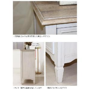 チェスト 木製 ホワイト チェスト ホワイト 収納家具 アンティーク風 家具 チェスト幅80cm|kaguhonpo|04