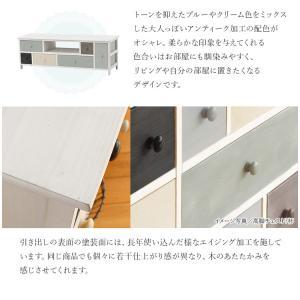 テレビ台 収納 おしゃれ テレビ台 ローボード テレビ台 完成品 テレビボード木製 グレイッシュカラー 幅113cm シャーベット|kaguhonpo|04