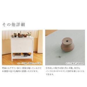 おしゃれ チェスト 完成品 アンティーク 木製 北欧 グレイッシュカラーローチェスト引出し7杯|kaguhonpo|08