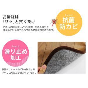 キッチンマット フローリング調 ホットマット ホットカーペット 電気マット 電気カーペット 幅240cm|kaguhonpo|03