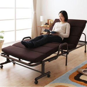折りたたみベッド シングル 折りたたみベッド リクライニング ベッド シングル 折りたたみベット シングル MORIS モリス|kaguhonpo