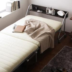 折りたたみベッド シングル 折りたたみベッド リクライニング ベッド シングル 折りたたみベット シングル Tars タルス 宮付き kaguhonpo 02