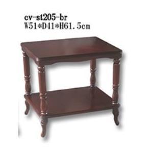 アンティークテイスト・ロココ調家具:マホガニー:マルチテーブル|kagukomu