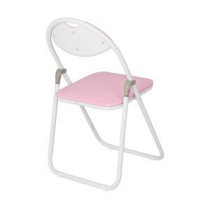 折りたたみ椅子 ホワイトフレーム パイプ椅子 ミーティングチェア 会議椅子 会議チェア 折り畳み椅子|kagukuro|04