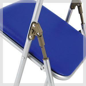 折りたたみ椅子 手挟み防止機能 パイプ椅子 ミーティングチェア 会議椅子 会議チェア 折り畳み椅子 代引不可|kagukuro|02