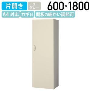 片開きスキマ書庫 W600×D450×H1800 キャビネット システム収納庫 スキマ 代引不可|kagukuro