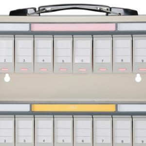 キーステーション 80個収容 NKSタイプ キーボックス 鍵保管庫 鍵保管棚 オフィス収納 カギ保管庫 カギ保管棚 代引不可 587975 法人宛限定|kagukuro|05