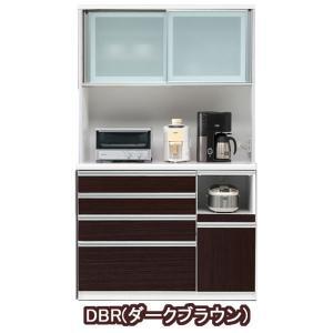 食器棚 引き戸 レンジ台 完成品 120cm幅 開梱設置|kagunoconcierge|03
