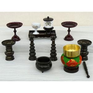 特選仏具 仏具 仏壇 上置き壇用 仏具セット kagunoconcierge