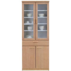 食器棚 完成品 70cm幅 「ナチュール2」 開梱設置|kagunoconcierge