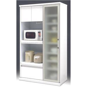 食器棚 ダイニングボード レンジボード 完成品 105cm幅 「ミニ」 開梱設置|kagunoconcierge