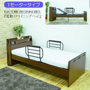 リクライニングベッド 本体 シングルサイズ 一人用 介護ベッド
