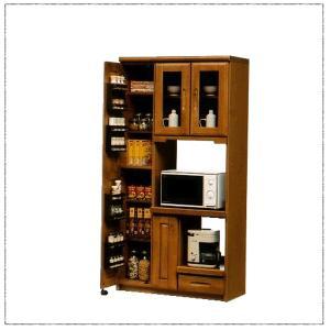 食器棚 レンジ台 幅90cm 日本製 完成品|kagunomori