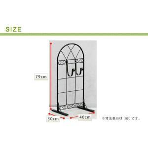 送料無料 ガーデニングの必需品 クラシック風のアイアイン製ホースハンガー ホースリール ホース収納 ガーデン雑貨|kagunoomise|05