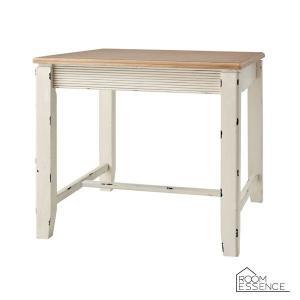 ダイニングテーブル テーブル 机 北欧 フレンチカントリー シャビー アンティーク調 COL-018 ブロッサム 正方形 幅80 ホワイト|kagunoroomkoubou