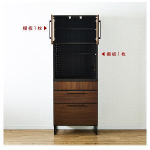 キッチン収納 食器棚 キッチンボード 日本製 国産 大川家具 ノア 70 ダイニングボード OP|kagunoroomkoubou|14