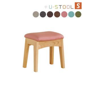 スツール 椅子 イス チェア 木製 スツール 北欧デザイン 腰掛け 天然木 ユースツールS|kagunoroomkoubou