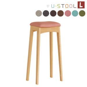 スツール 椅子 イス チェア 木製 スツール 北欧デザイン 腰掛け 天然木 ユースツールL|kagunoroomkoubou