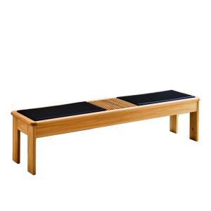 ベンチ チェア 腰掛け 日本製 国産 大川家具 和風 和モダン 宵月 畳 ベンチ|kagunoroomkoubou|04
